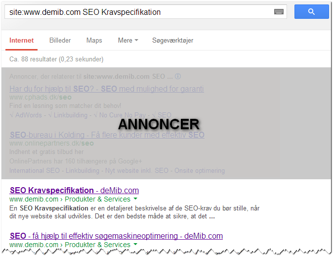 Keyword URL Match SEO Google