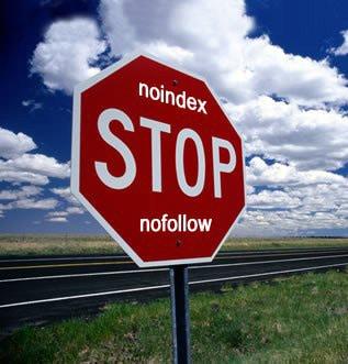 NOINDEX eller NOFOLLOW