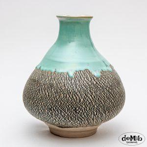 Bredbundet vase med krakeleringer (MD1927)